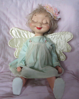 Vintage American Character Whimsie Doll Fannie The Fallen Angel