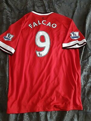 manchester united shirt 2014-2015 falcao xl authentic