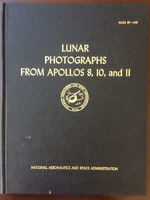 1971 NASA Lunar Photos - Apollo 8, 10, 11 Robert Musgrove Book