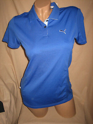 NEU PUMA Damen Golfshirt 36/S blau Golf Poloshirt T-shirt Tech Polo ladies