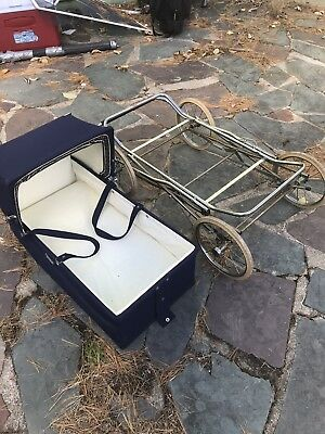 Rare Antique 1950s 1960s Marmet Baby Carriage Made In England