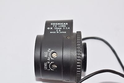 Cosmicar Tv Lens Gx 12Mm 1:1.4 Cs Lens