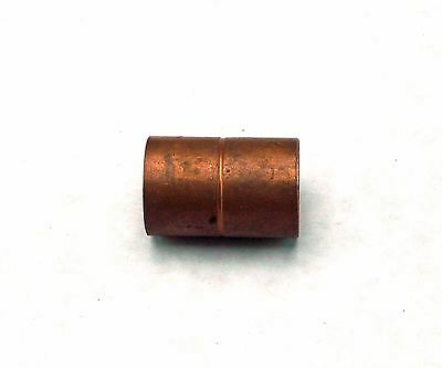 "NEW COPPER ROLLED STOP COUPLING PRESSURE FITTING 1"" C x C"