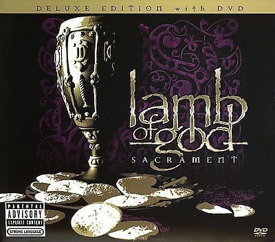 LAMB OF GOD - Sacrament RARE OOP 11Trk 2006 CD/DVD NM Deluxe Edition Hatebreed