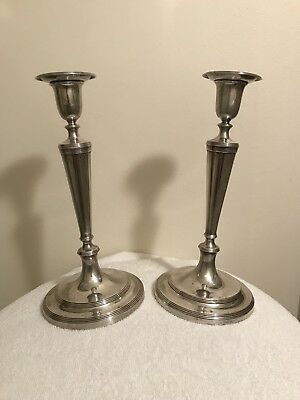 Antique Tiffany & Co. Sterling Silver Candlesticks, Non-Weighted, Gorgeous!!