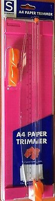 Sovereign A4 Paper Trimmer with 2 Spare Blades - Pink 40533