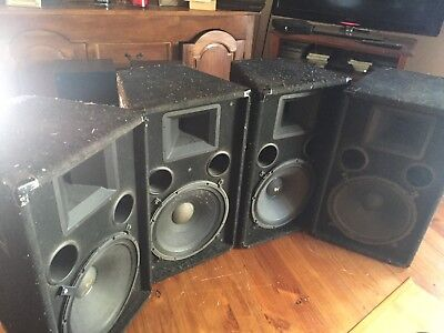 Four Speakers T52 Electro Voice 2-Way PA Stage System Speaker