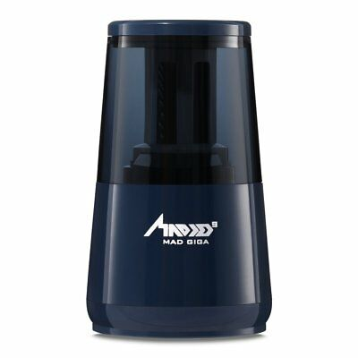 MAD GIGA T36009 Auto-Stop Electric Pencil Sharpener With Strong Helical Blade