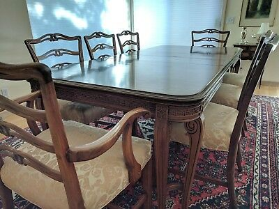 Vintage Chippendale 9 Piece Dining Room set