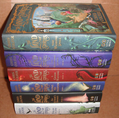 The Land of Stories Vol. 1,2,3,4,5,6 by Chris Colfer Hardcover
