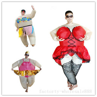 70a065aa32135 Adults Inflatable Hawaiian Costumes Sexy Hula Ballet Dancer Party Cosplay  Dress
