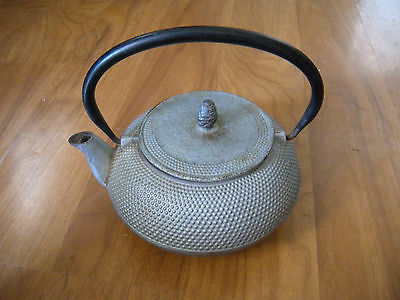 RARE Japanese Kettle Tea Pot cast iron antique