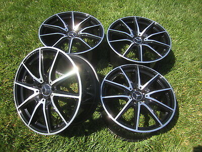 """19"""" 20"""" Amg Gt Gts Nercedes Rims Oem Stock New Cond Perfect Set 4 Genuine"""