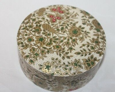 """Vintage  Round Japanese"""" Alcohol Proof"""" Coasters in  Matching Lacquered Box"""