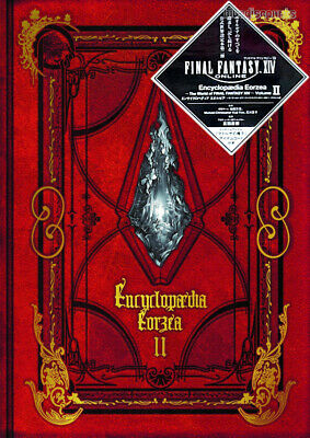 DHL Encyclopaedia Eorzea The World of FINAL FANTASY XIV Volume II 2 Book+CODE JP