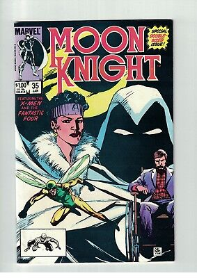 Moon Knight #35 FN X-Men & Fantastic Four Appearance