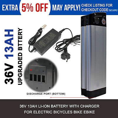 36v 13ah 200W 250W Electric Bike eBike Bicycle Lithium Ion Battery with Charger