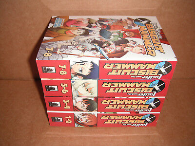 Lucifer and the Biscuit Hammer Vol. 1-2,3-4,5-6,7-8 Manga Graphic Novels English
