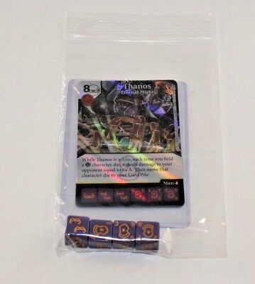 CUR Set RARE FOIL 4 dice DRAX Marvel Dice Masters Guardians of the Galaxy