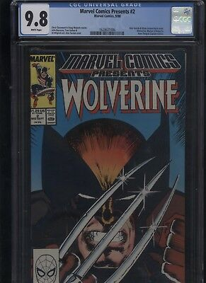 Marvel Comics Presents #2 CGC 9.8 Wolverine 1988