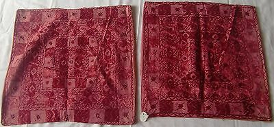 Beautiful Handmade Old Vintage Patch Work Cushions/pillow Cover India Fine Art13