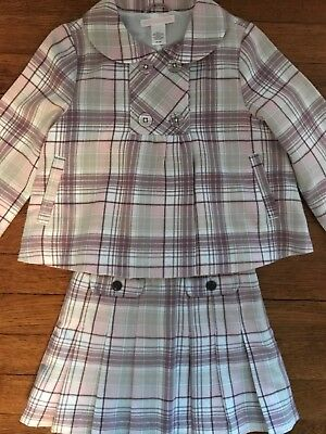 Janie And Jack Girls Suit Skirt And Jacket Size 3T