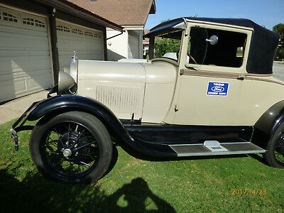 1928 Ford Model A  Ford Model A  Business Coupe