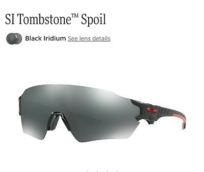 502151e7a59 NEW OAKLEY SI Tombstone Reap Matte Black Frame Prizm Sporting Clay ...
