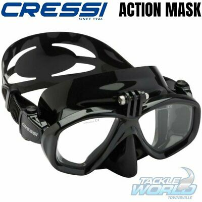 Cressi Action Mask with GoPro Mount BRAND NEW