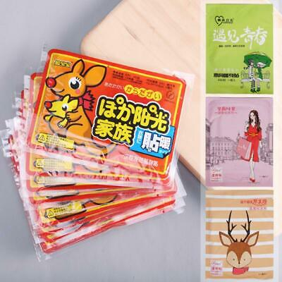 Warm-up Warm Stickers Self-Heat Paste Body Pad Lasting Heat Patch Winter 10 PCS