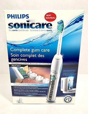 NEW Philips Rechargeable UV Sonicare Electric Toothbrush FlexCare+ HX6972/10 NIB