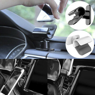 """Universal Interior Gravity Car Phone Holder 4~7"""" Mounts Stand For iPhone Samsung"""
