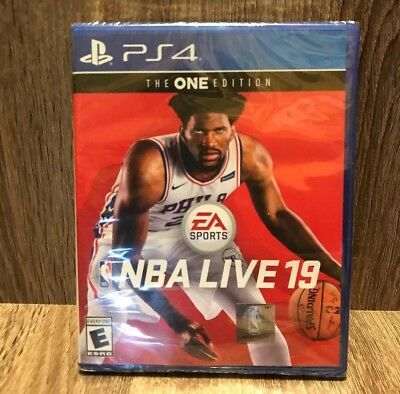 ✅NBA Live 19 : The ONE Edition (PlayStation 4, ps4) Brand new✅