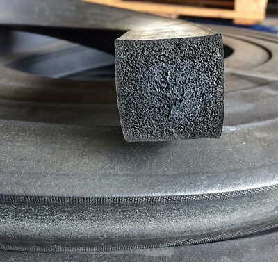 EPDM Sponge 25mm x 25mm Rubber Extrusion Strip Per Meter