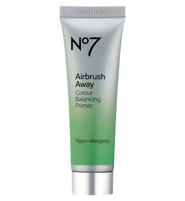No7 Airbrush Away Colour Balancing Primer, Flawlwss in Seconds 30ml, New & Boxed