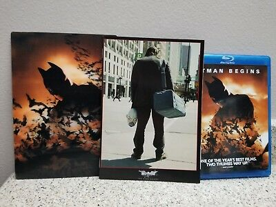 Batman Begins (Blu-ray Disc, Limited Edition Giftset) Brand New and Sealed!