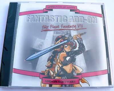 Final Fantasy VII Fantastic Add-on PC-Spiele Classic WIN 95 Original NEU