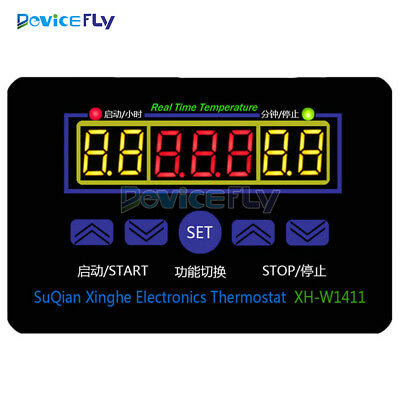 Digital LED Temperature Controller 10A Thermostat Control Switch +Probe 12V/220V