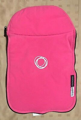 Bugaboo Cameleon Bassinet Carrycot Fleece Tailored Apron Cover | Pink
