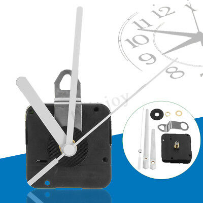 UK 15mm Quartz Clock Movement Mechanism Spindle Battery Powered Hand DIY Repair