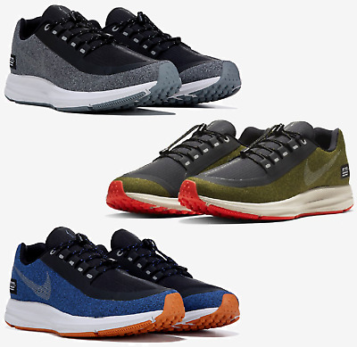 closer at great prices on feet at NIKE AIR ZOOM Winflo 5 Run Shield Utility Sneaker Men's ...