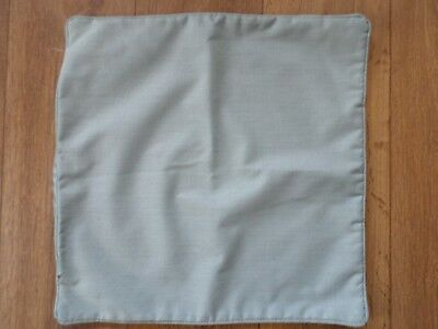 DUNELM ICE BLUE THERMAL LINED CUSHION COVER 45CM x 45CM