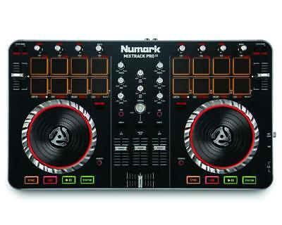 Numark Mixtrack Pro II 2 Deck DJ Equipment Controller Audio Interface USB MIDI