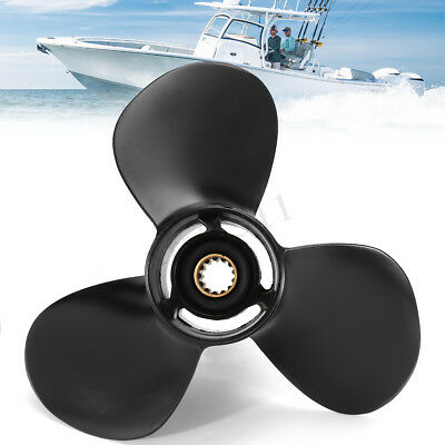 11.1 x 13 Aluminum Boat Propeller For Tohatsu/Nissan Outboard 35-50HP 3T5B645270