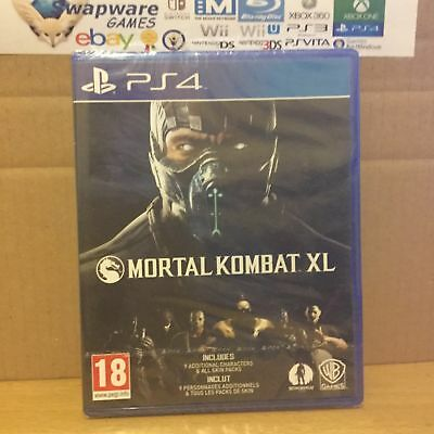 Mortal Kombat XL PS4 Playstation 4 New & Sealed +Courier Delivery