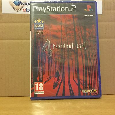 Resident Evil 4 Playstation 2 PS2 New & Sealed +Courier Delivery
