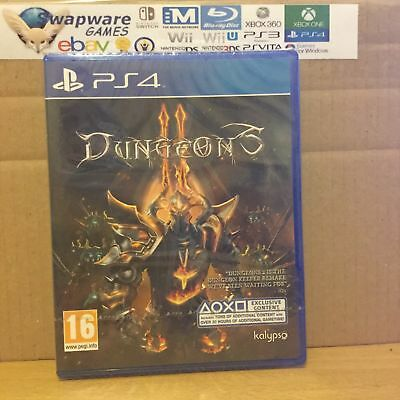 Dungeons II PS4 Playstation 4 New & Sealed +Courier Delivery