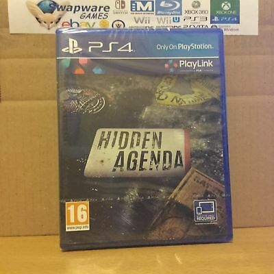 Sony Hidden Agenda (PS4) Playstation 4 New & Sealed +Courier Delivery