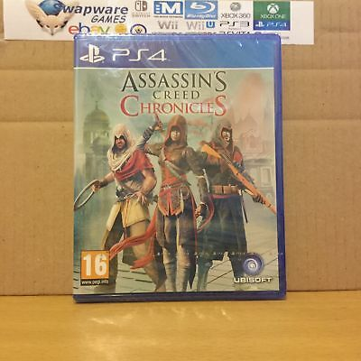 Assassin's Creed Chronicles PS4 Playstation 4 New & Sealed +Courier Delivery