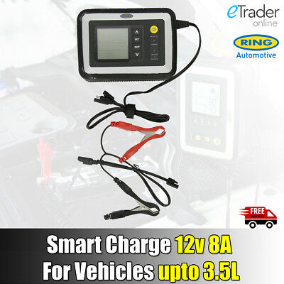 Ring Battery Charger RSC608 Multi Stage Smart Car Van 12V, 8A Intelligent New